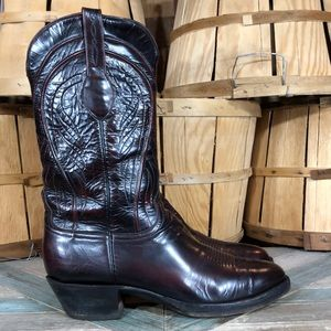 Lucchese 'Gavin' Handmade Leather Cowboy Boots